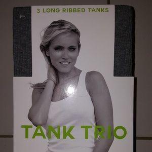 Tops - BNIP 3PK LARGE TANK TOPS